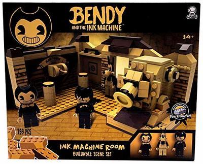 Конструктор Бенди и чернильная машина: Сценическая комната (259 штук) (Basic Fun Bendy & The Ink Machine - Room Scene (259Piece)) (фото)