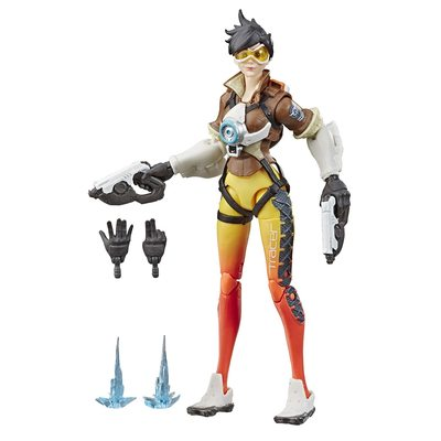 Трейсер - фигурка Overwatch (Hasbro Overwatch Ultimates Series Tracer Collectible Action Figure) (фото)