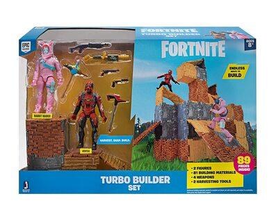 Конструктор Фортнайт - Turbo Builder - Опасный кролик и Вертекс (89 деталей) (Fortnite Turbo Builder Set 2 Figure Pack, Rabbit Raider & Vertex) (фото)