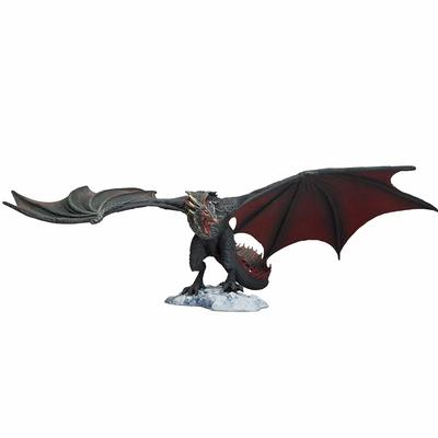 Игра престолов - Дракон Дрогон Коллекционная фигура (McFarlane Toys Game of Thrones Drogon Deluxe Box, Black) (фото)