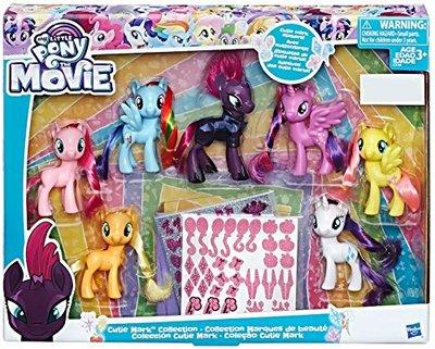 Коллекционный набор пони (Эксклюзив Cutie Mark) (My Little Pony The Movie Exclusive Cutie Mark Collection)