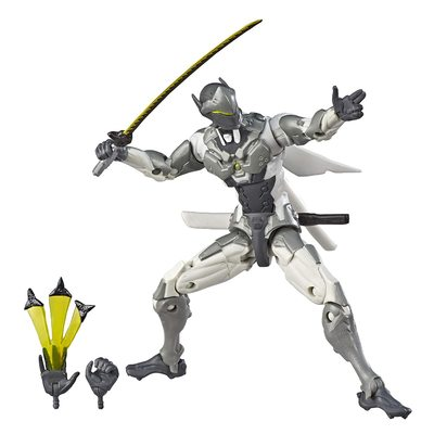 Гэндзи - фигурка Овервотч (Hasbro Ovw Ultimates Chrome Choc) (фото)