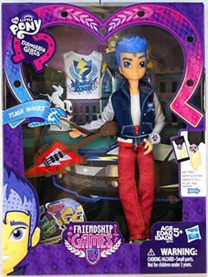 Эксклюзивная кукла Флэш Сентри из серии: My Little Pony Игры дружбы (My Little Pony Equestrian Girls Friendship Games Exclusive FLASH SENTRY by My Little Pony)
