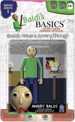 Фигурка Злой Балди из игры Балди Басикс (Baldi's Basics Action Figure (Angry Baldi)) (фото)