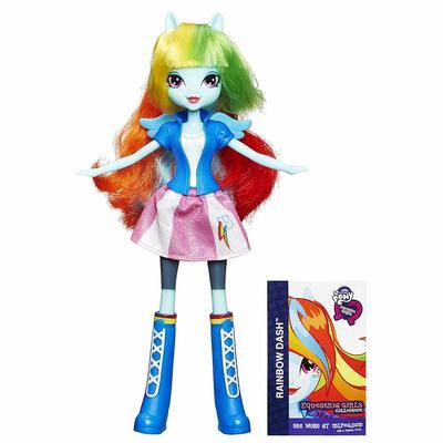 Кукла Радуга Дэш - Девушки Эквестрии из серии Коллекция (My Little Pony Equestria Girls Collection Rainbow Dash) (фото)