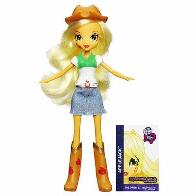 Кукла Эпплджек - Девушки Эквестрии из серии Коллекция (My Little Pony Equestria Girls Collection Applejack) (фото)