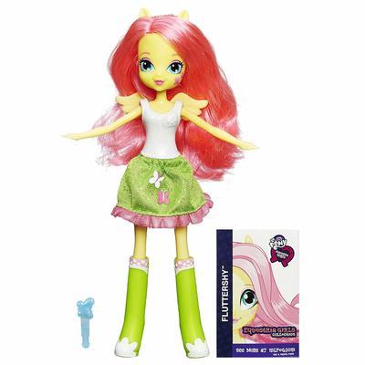 Кукла Флаттершай - Девушки Эквестрии из серии Коллекция (My Little Pony Equestria Girls Collection Fluttershy) (фото)