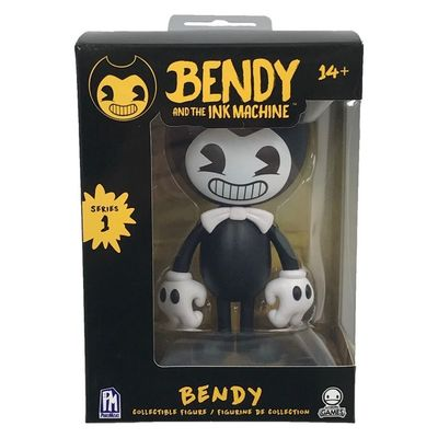 Виниловая фигурка Бенди 1-серия (Bendy and the Ink Machine : Bendy Vinyl Figure) (фото)