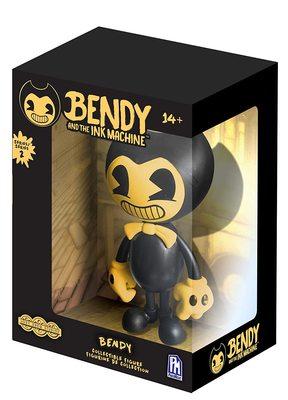 Виниловая фигурка Желтый Бенди 2-серия Эксклюзив (Bendy Vinyl - Yellow Edition (Online Exclusive)) (фото)