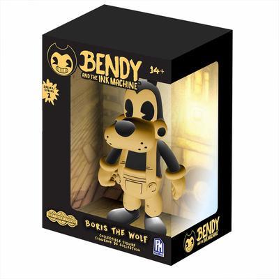 Виниловая фигурка Желтый Волк Борис 2-серия (Bendy and the Ink Machine : Boris The Wolf Vinyl Figure - Yellow Edition) (фото)