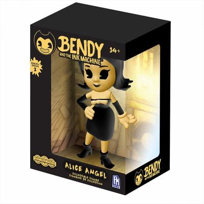 Виниловая фигурка Желтая Ангел Алиса 2-серия (Bendy and the Ink Machine Alice Angel Vinyl Figure - Yellow Edition) (фото)