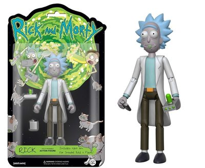 Фигурка Рик - Рик и Морти (Собери - Снафелс Снежок) (Funko Articulated Rick and Morty Rick Action Figure) (фото)