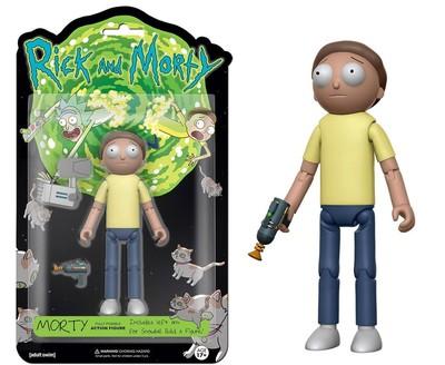 Фигурка Морти - Рик и Морти (Собери - Снафелс Снежок) (Funko Articulated Rick and Morty Morty Action Figure) (фото)