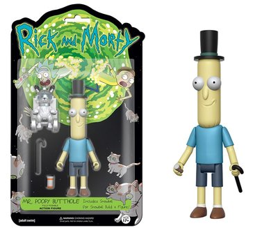 Фигурка Мистер Жопосранчик - Рик и Морти (Собери - Снафелс Снежок) (Funko Articulated Rick and Morty - Mr.Poopy Butthole Action Figure) (фото)