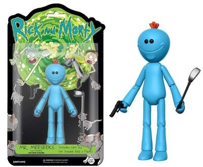Фигурка Мистер Мисикс - Рик и Морти (Собери - Снафелс Снежок) (Funko Articulated Rick and Morty Meeseeks Action Figure) (фото)
