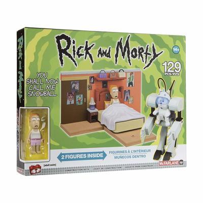 Зовите меня Снежком - Средний конструктор Рик и Морти (129 дет) (McFarlane Toys Rick & Morty You Shall Now Call Me Snowball Medium Construction Set) (фото)