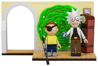 Злой Рик и Морти - малый конструктор Рик и Морти (98 дет) (McFarlane Toys Rick & Morty Evil Rick & Morty Small Construction) (фото)