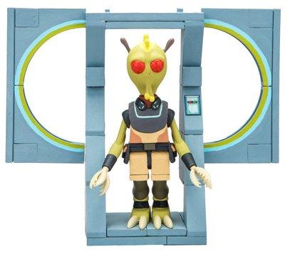 Кромбопулос - осторожный Ассасин - мини конструктор Рик и Морти (54 дет) (McFarlane Toys Rick & Morty The Discreet Assassin Micro Construction Set) (фото)