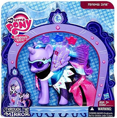 Принцесса Луна - Через Зеркало Through the Mirror (Hasbro My Little Pony Through the Mirror Princess Luna Figure)