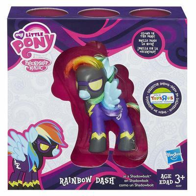 Эксклюзивная пони Радуга Дэш теневая - светится в темноте (My Little Pony Friendship is Magic Limited Exclusive Rainbow Dash as Shadowbolt) (фото)