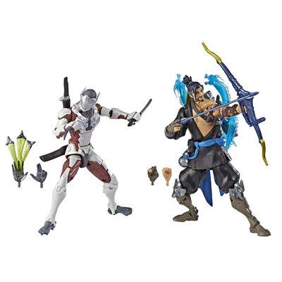 Гэндзи и Хандзо - Набор фигурок Overwatch (Hasbro Overwatch Ultimates Series Genji and Hanzo - Dual Pack Collectible Action Figures) (фото)