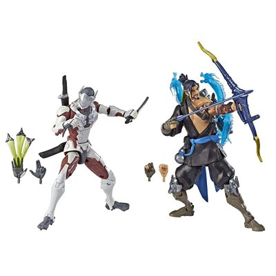 Гэндзи и Хандзо - Набор фигурок Overwatch (Hasbro Overwatch Ultimates Series Genji and Hanzo - Dual Pack Collectible Action Figures) (фото)