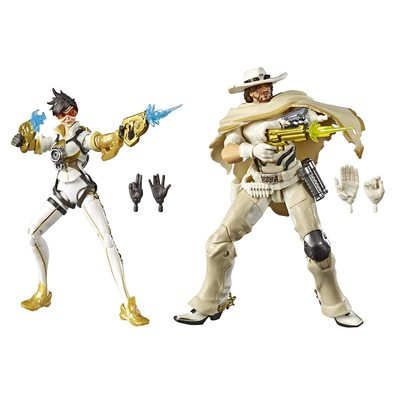 Трейсер и Маккри - Набор фигурок Overwatch (Hasbro Overwatch Ultimate Series Tracer & McCree Fual Pack) (фото)