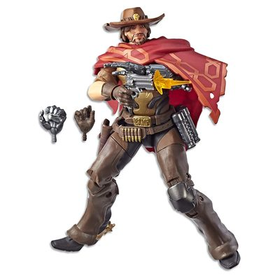 Маккри - фигурка Овервотч (Hasbro Overwatch Ultimates Series McCREE Collectible Action Figure) (фото)