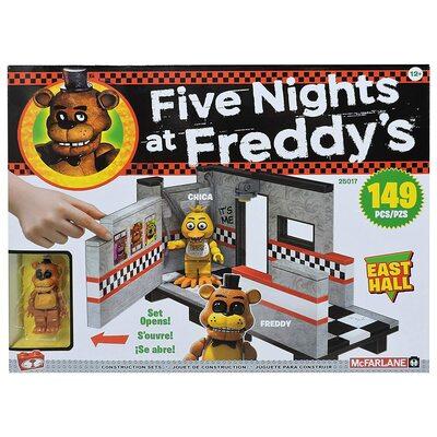 Восточный зал - конструктор пять ночей с Фредди 149 дет. (McFarlane Toys Five Nights at Freddy's East Hall Medium Construction Set) (фото)