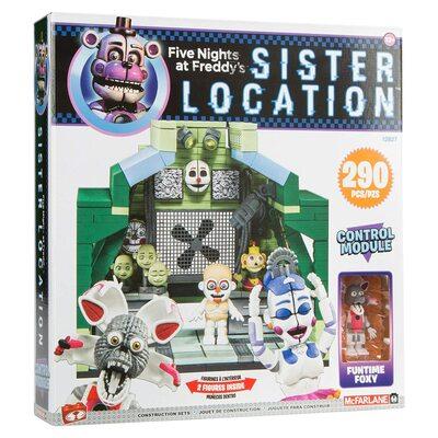 Модуль управления - конструктор пять ночей с Фредди 290 дет. (McFarlane Toys Five Nights at Freddy's Control Module Large Construction Set) (фото)