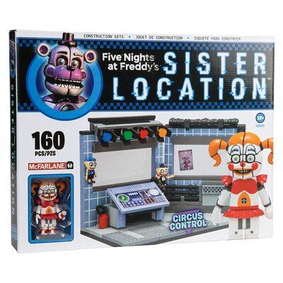 Цирковое управление - конструктор пять ночей с Фредди 160 дет. (McFarlane Toys Five Nights at Freddy's Circus Control Construction Building Kit) (фото)
