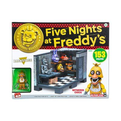 За кулисами - конструктор пять ночей с Фредди 153 дет. (McFarlane Toys Five Nights at Freddy's Backstage 'Classic Series' Medium Construction Set) (фото)