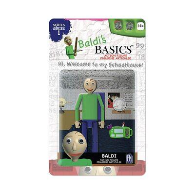 Фигурка Балди - с планшетом из игры Балди Басикс (Baldi's Basics Action Figure. You can think Pad) (фото)