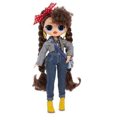 Кукла ЛОЛ Сюрприз! O.M.G. Стильная Бизи БиБи с 20 сюрпризами. (L.O.L. Surprise! O.M.G. Busy B.B. Fashion Doll with 20 Surprises) (фото)