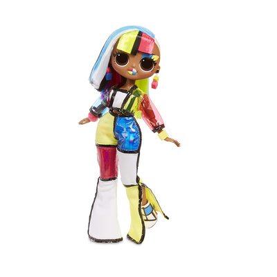 Кукла ЛОЛ Сюрприз! O.M.G. Стильная Англс, светящаяся в темноте, с 15 сюрпризами (L.O.L. Surprise! O.M.G. Lights Angles Fashion Doll with 15 Surprises) (фото)
