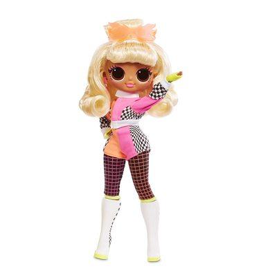 Кукла ЛОЛ Сюрприз! O.M.G. Стильная Спидстер, светящаяся в темноте, с 15 сюрпризами (L.O.L. Surprise! O.M.G. Lights Speedster Fashion Doll with 15 Surprises) (фото)