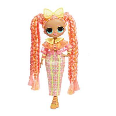 Кукла ЛОЛ Сюрприз! O.M.G. Стильная Дазл, светящаяся в темноте, с 15 сюрпризами (L.O.L. Surprise! O.M.G. Lights Dazzle Fashion Doll with 15 Surprises) (фото)