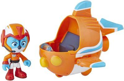 Фигурка Свифта с транспортным средством (скоролет), герой сериала «Отважные птенцы» (Top Wing Swift figure and vehicle) (фото)
