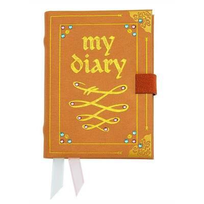 """Дневник Одри, украшенный стразами и золотыми буквами из серии """"Наследники Дисней 3"""" (Disney Descendants 3 - Audrey Diary Notebook) (фото)"""