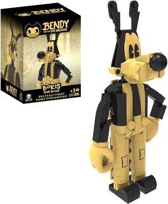 Бенди и чернильная машина - сборная фигура Бориса (202 шт.) (Bendy and the Ink Machine - Boris Buildable Figure) (фото)