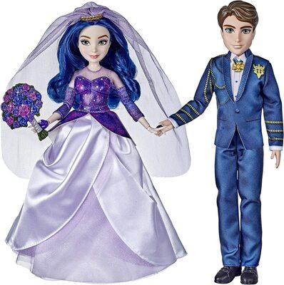 """Набор «Королевская свадьба» кукол Мэл и Бен из серии """"Наследники Дисней 3"""" (Disney Descendants Mal and Ben Dolls, The Royal Wedding) (фото)"""