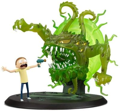 Фигурка Морти и монстр, погром (Rick and Morty - Morty Monster Mayhem Figure) (фото)