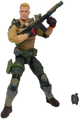 Фигурка Джи Ай Джо №04 Дюк с аксессуарами, премиум-класс G.I. Joe (Duke Action Figure Collectible 04 Premium Toy with Accessories) (фото)