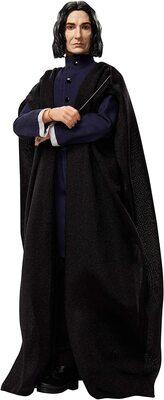 Кукла Северус Снейп в мантии волшебника - Гарри Поттер. (HARRY POTTER Collectible Severus Snape Doll) (фото)