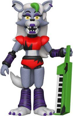 Роксана Волчица подвижная фигурка - Нарушение Безопасности. (Funko Action Figure: Five Nights at Freddy's, Security Breach - Roxanne Wolf) (фото)
