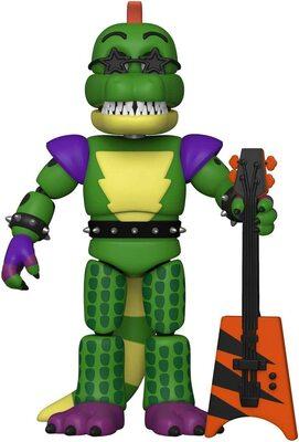Аллигатор Монтгомери (Глэмрок Монти) - Нарушение Безопасности (Funko Action Figure: Five Nights at Freddy's, Security Breach - Montgomery Gator) (фото)