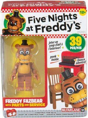 Запчасти и сервис - конструктор пять ночей с Фредди 39 дет. (McFarlane Toys Five Nights at Freddy's Parts and Service Micro Construction Set) (фото)