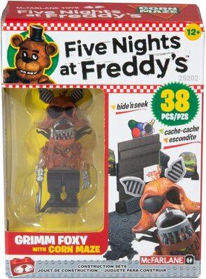 Кукурузный лабиринт - конструктор пять ночей с Фредди 38 дет. (McFarlane Toys Five Nights at Freddy's Corn Maze Micro Construction Set) (фото)