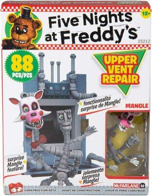 Ремонт верхнего вентилятора - конструктор пять ночей с Фредди 88 дет. (McFarlane Toys Five Nights at Freddy's Upper Vent Repair Small Construction) (фото)