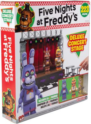 Концертная сцена Делюкс - конструктор пять ночей с Фредди 223 дет. (McFarlane Toys Five Nights at Freddy's Deluxe Concert Stage Large Construction Set) (фото)